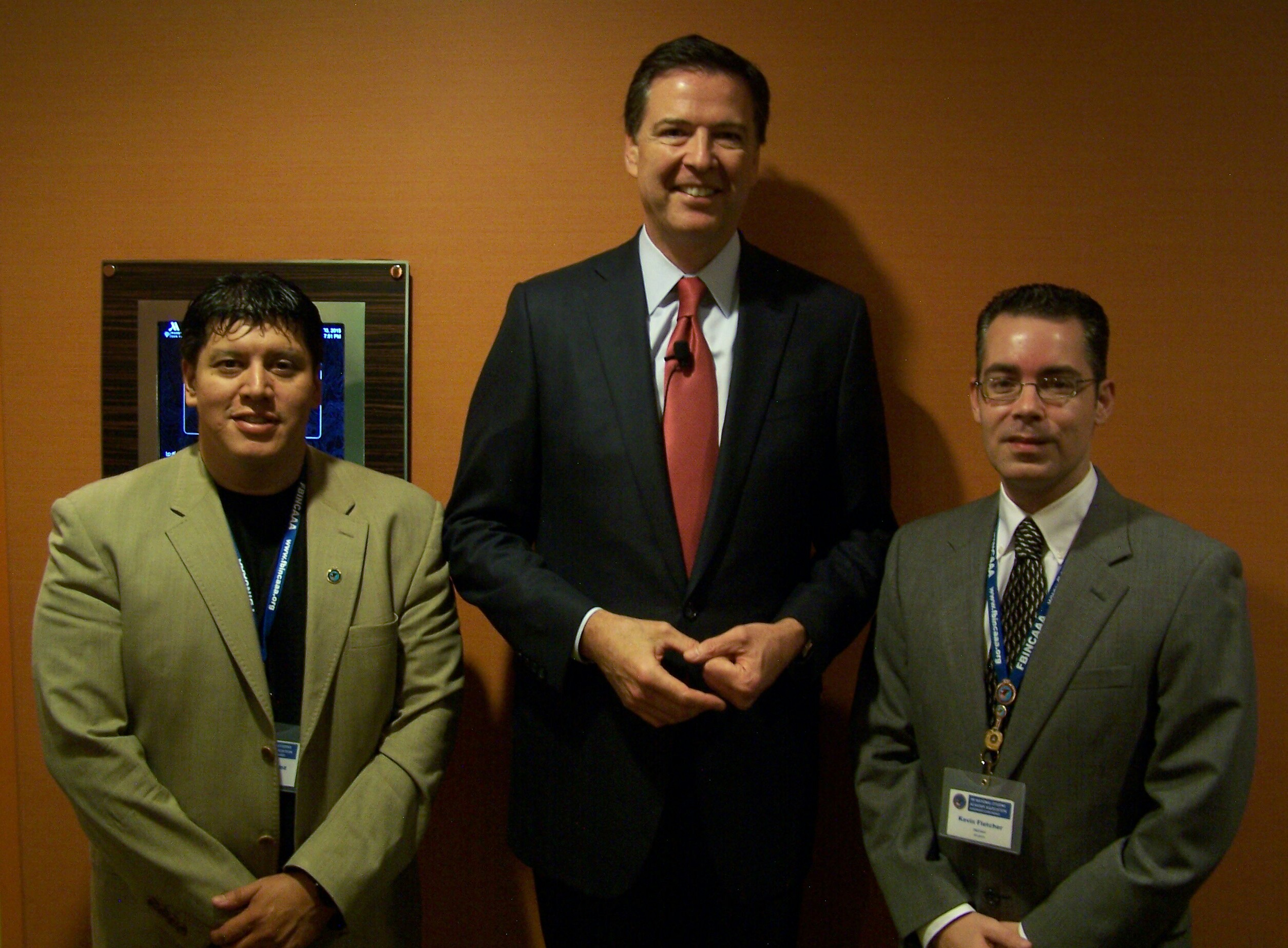 Alex, Director Comey, Kevin