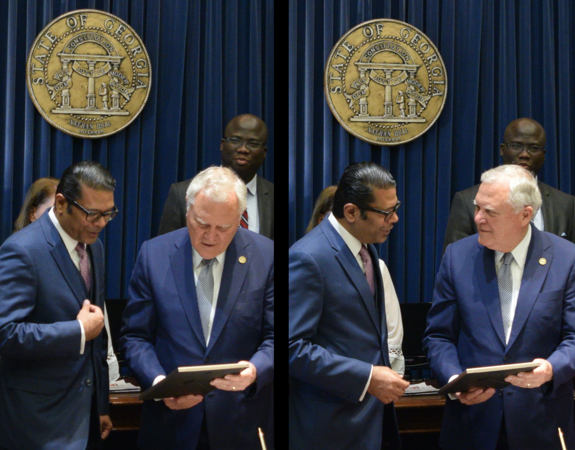Farooq & Governor Deal