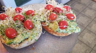 Bird's Nest Avocado Toast