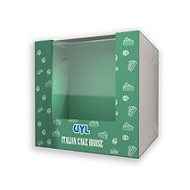 L-Shape Window Cake Box