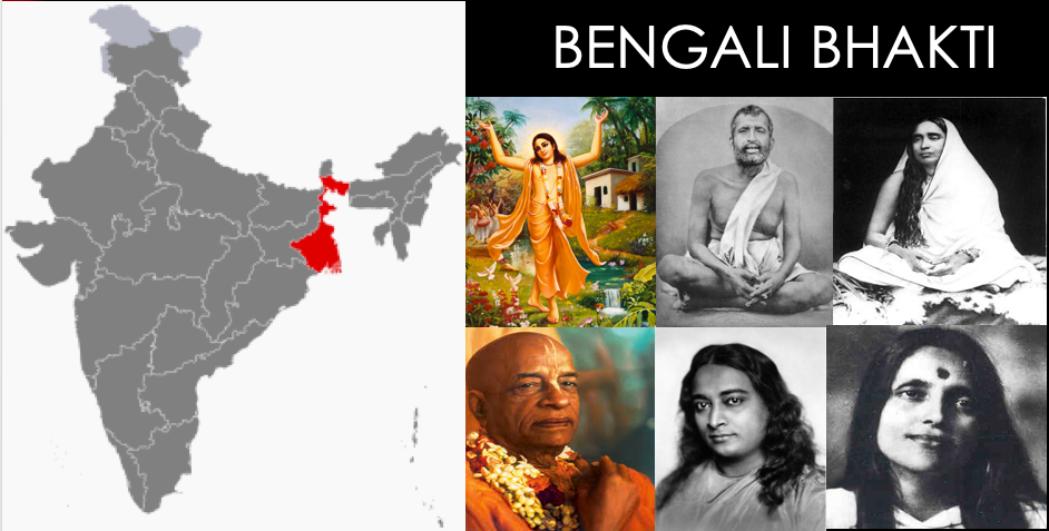 The Bengali Gurus of Bhakti