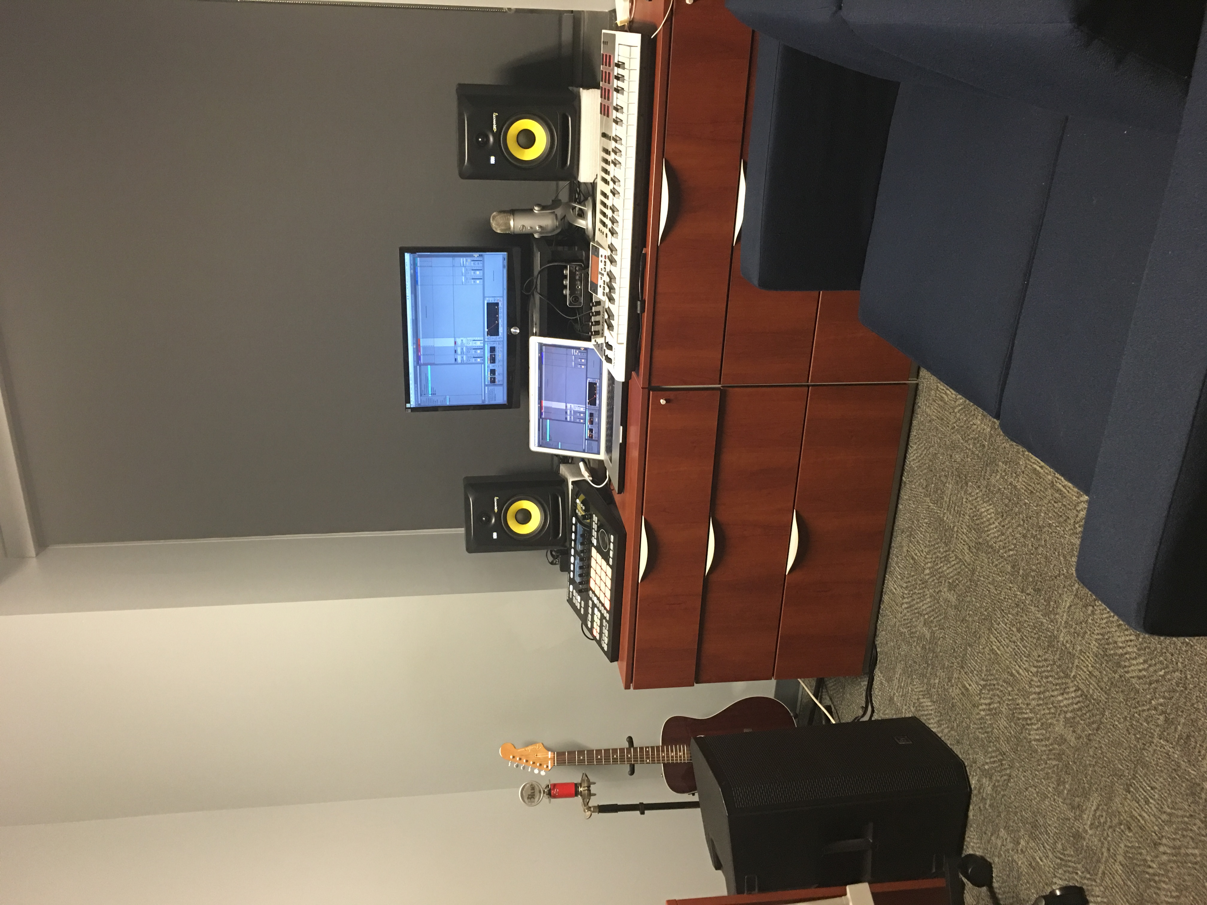 Dorm Studio Setup