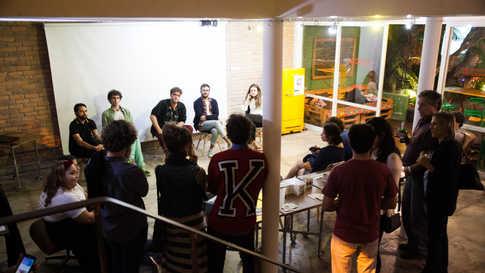 Mesa Redonda com diretores