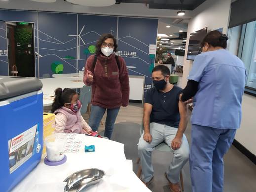 2° Operativo de vacunación en Casa Matri