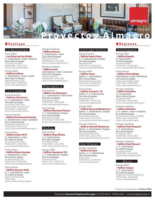 LISTADO PROYECTOS OCTUBRE 2019-09 conven