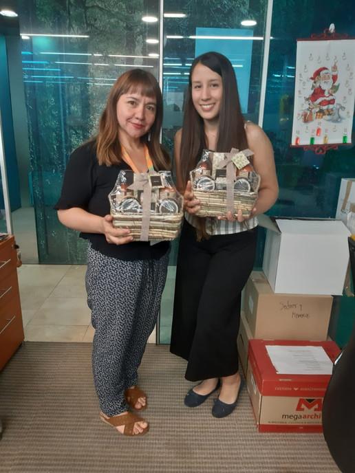 Ganadoras Feria de Autocuidado 2019 - Magdalena Tejos y Javiera Peña, Casa Matriz