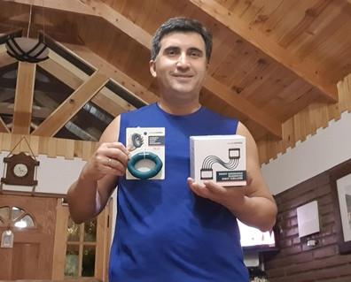 """Ganador concurso """"Actívate y Gana"""" - Flavio Rojas"""