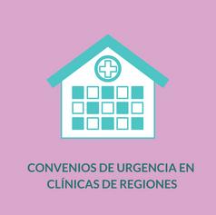 Convenios de Urgencia en Clínicas de Regiones