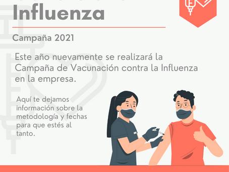 Candelaria: Campaña contra la Influenza
