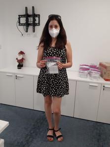 Ganadores Kit de protectores faciales Eu