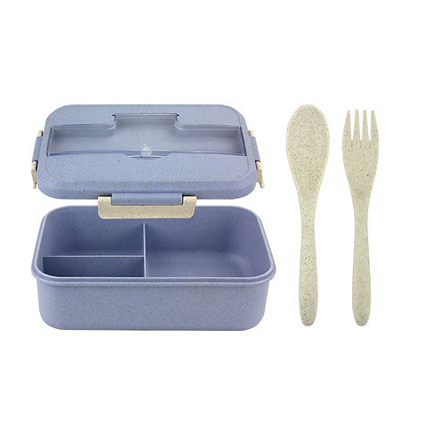 O-Yaki Ecoware   Take Anwhere Bento-Box  with utensils