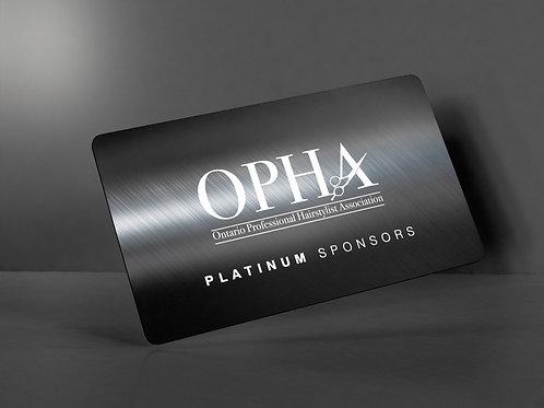 Corporate Sponsorship - Platinum