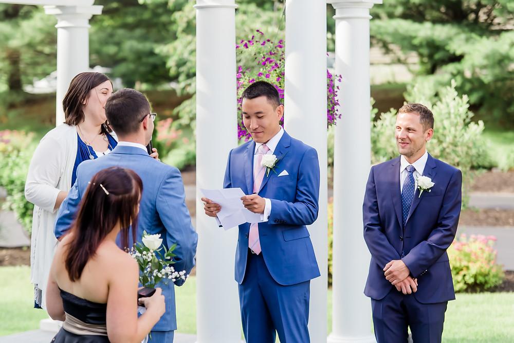 Same Sex Wedding Photographer Wells Maine
