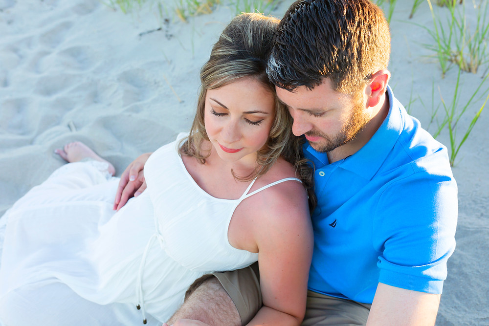 Wells Maine Photographer Maternity Session.