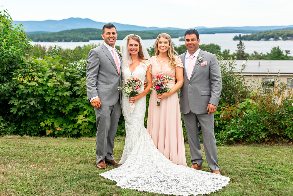 Intimate Wedding in New Hampshire by Elopement Photographer Elizabeth Ivy Photography