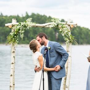 Dedham Maine Wedding At The Lakehouse