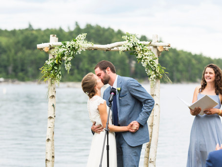 Dedham Maine Wedding At The Lakehouse