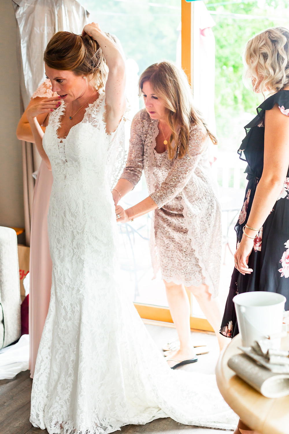 Elizabeth Ivy Photography captures wedding day details in Laconia New Hampshire.