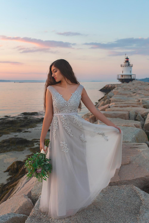 Spring Point Ledge Lighthouse Wedding
