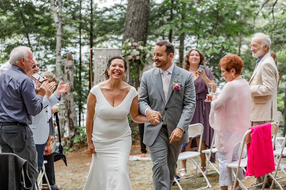 Intimate Maine Wedding Photographer