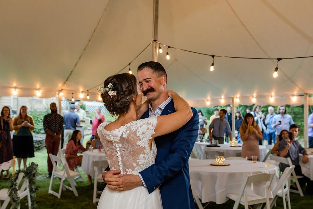 York Maine Wedding Photographer First Dance