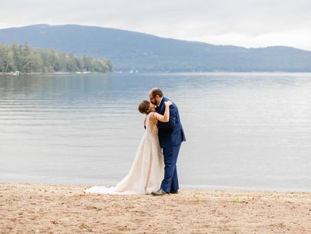 Jessica + Kirt: Newfound Lake, New Hampshire Barn Wedding