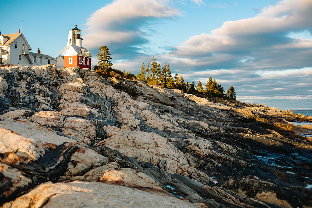 Pemaquid Point elopement