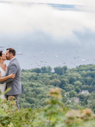 Sara + Lucas: Camden Maine Intimate Wedding