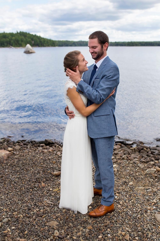 Dedham Maine Wedding on Phillips Lake