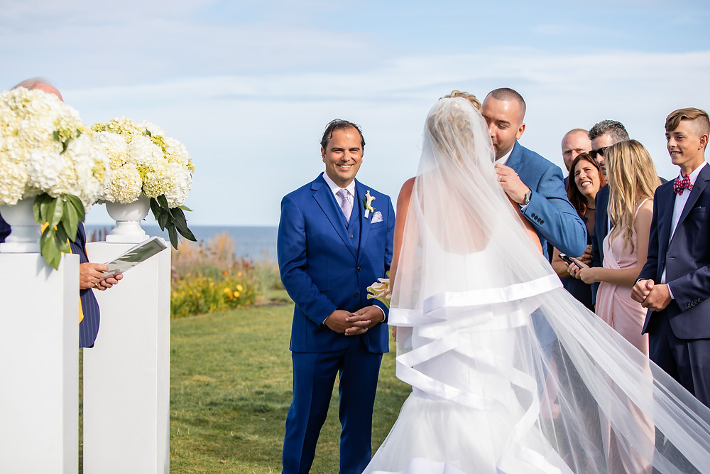 Maine Oceanfront Wedding Photographer