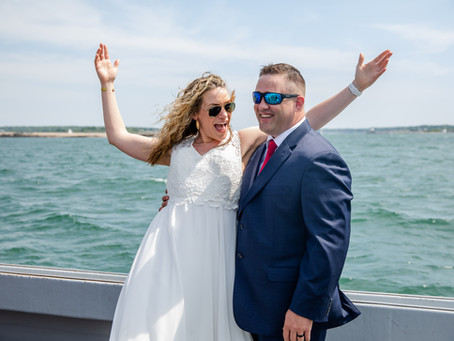 Gabe & Rachel's Peaks Island and Casco Bay Wedding