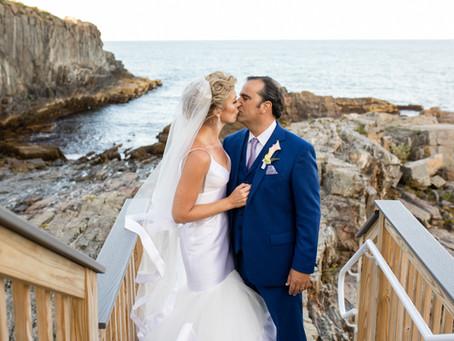Meghan & Matthew: Elegant Cliff House Wedding