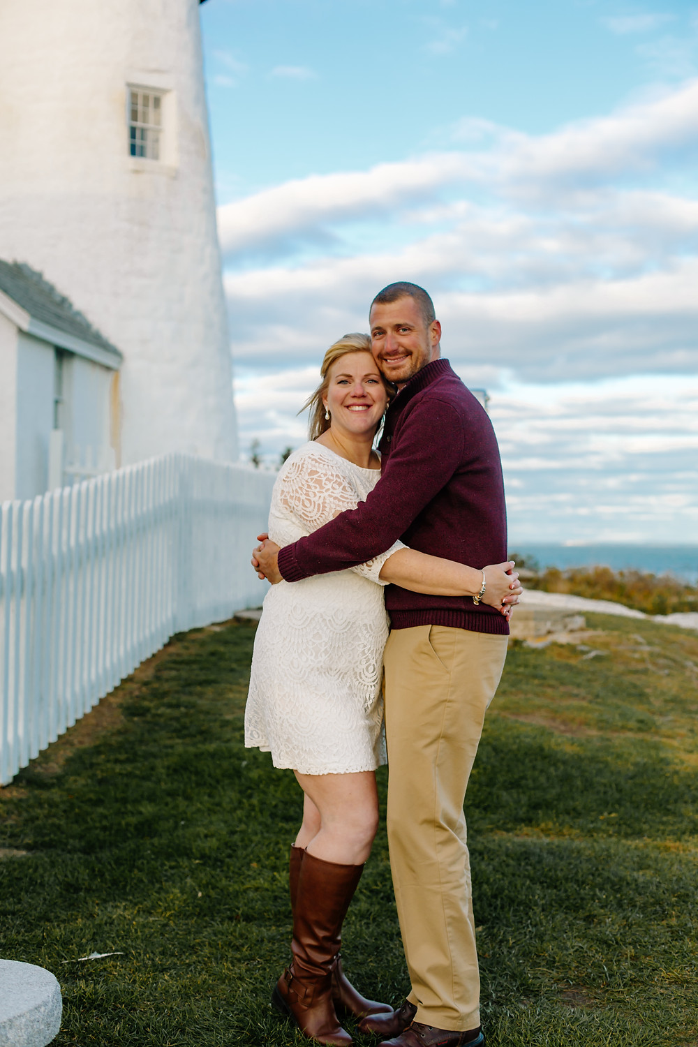 Pemaquid Point wedding