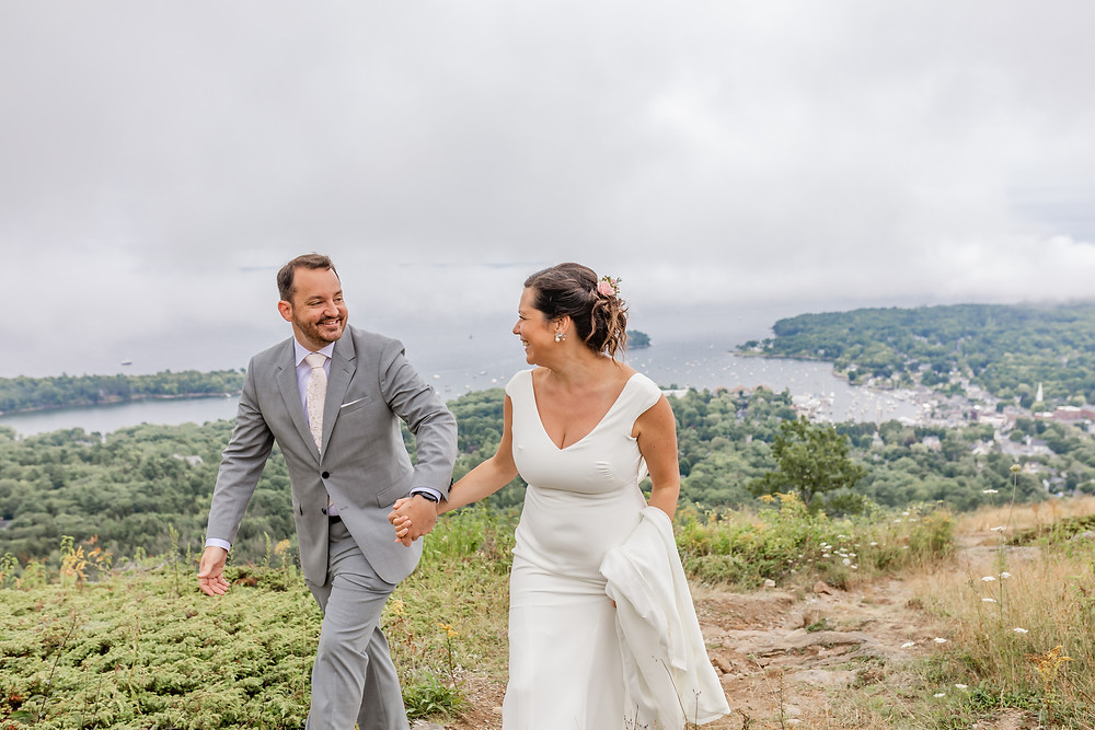 Camden Maine Elopement Photographer