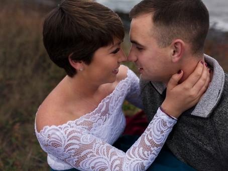 Fall Engagement, Biddeford Maine