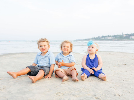 Ogunquit Beach Family Portrait Session