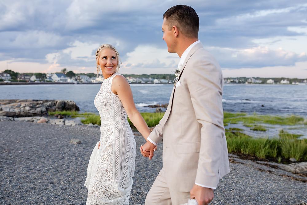 Kennebunk Maine Beach Wedding