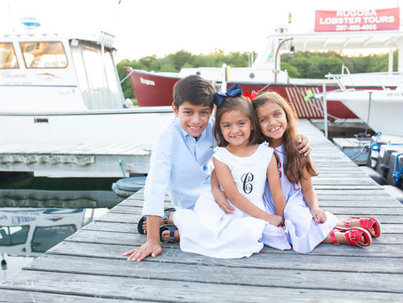 Kennebunkport Maine Family Photographer