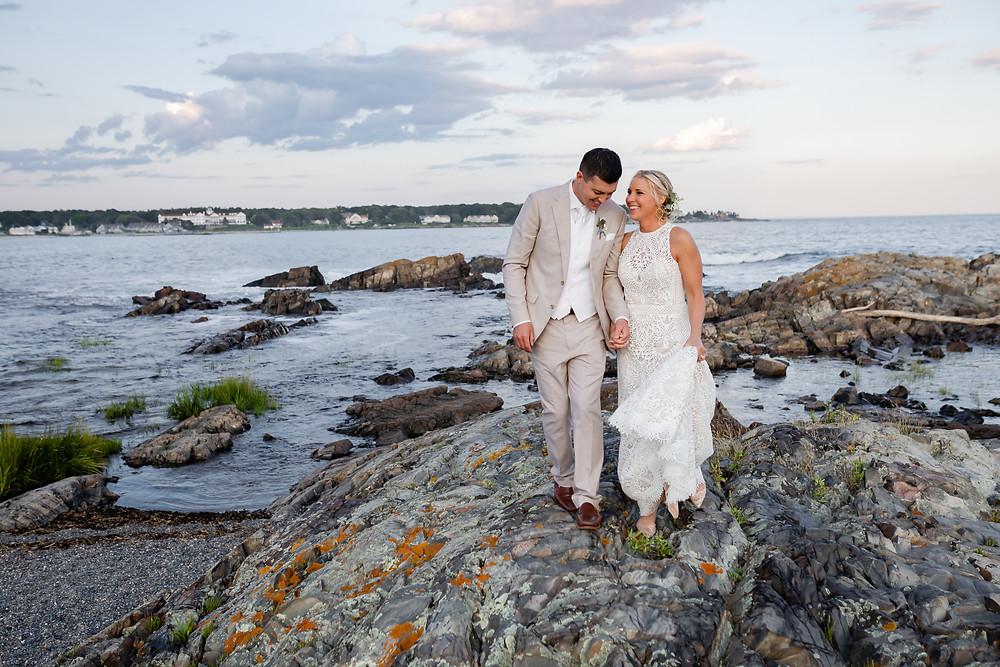 Kennebunkport Maine Oceanfront Wedding