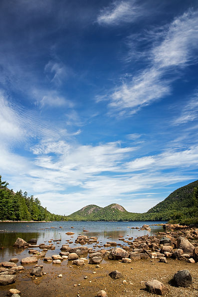 Jordan Pond, Acadia National Park, Mount