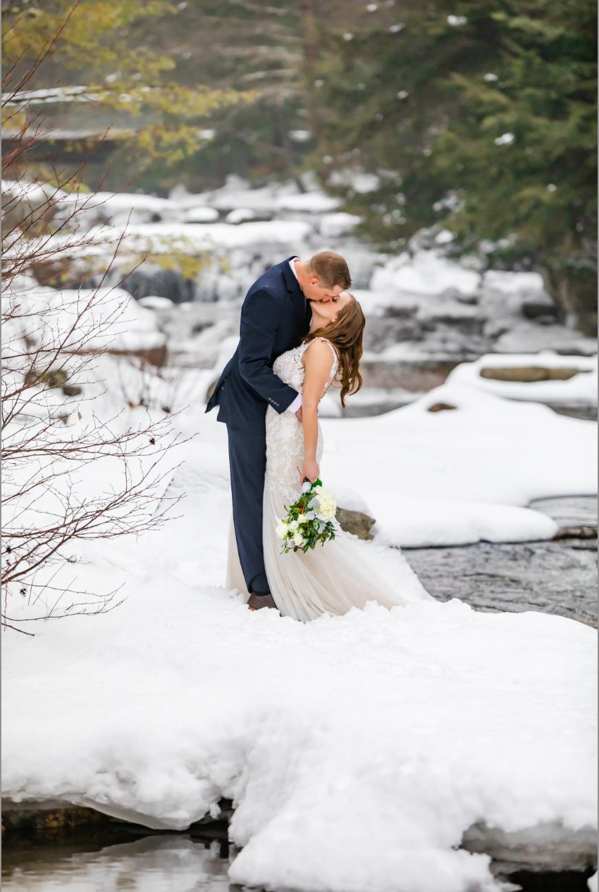 Jackson Falls Elopement Wedding Photography