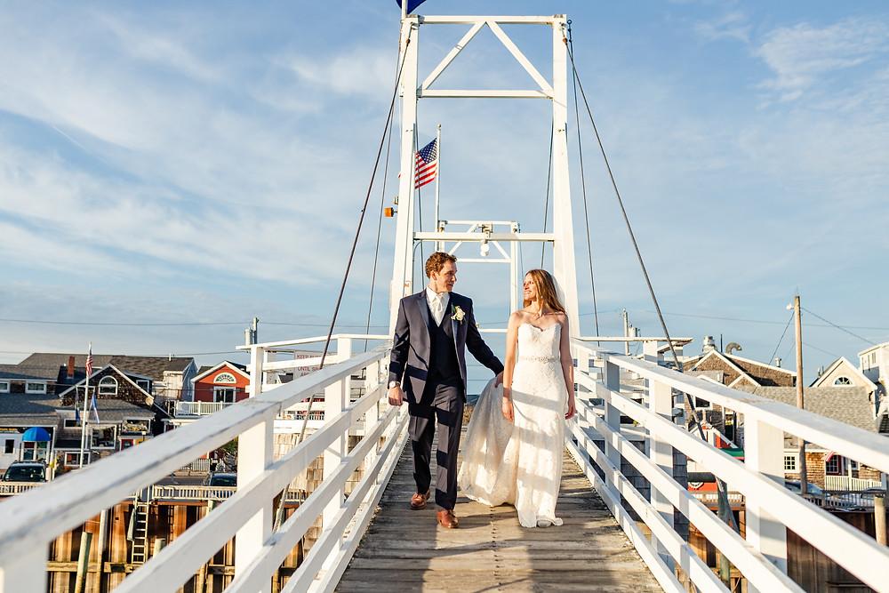 Oceanside Wedding in Maine