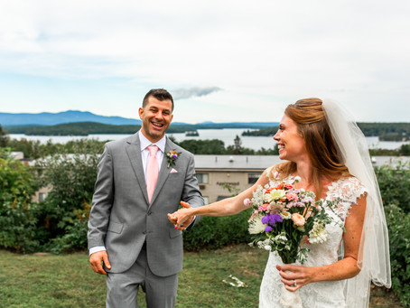 Laconia New Hampshire Wedding and Elopement Photographer: Elizabeth Ivy Photography captures an inti