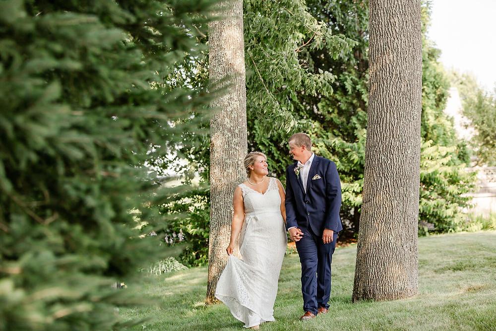 Simple Wedding in Maine