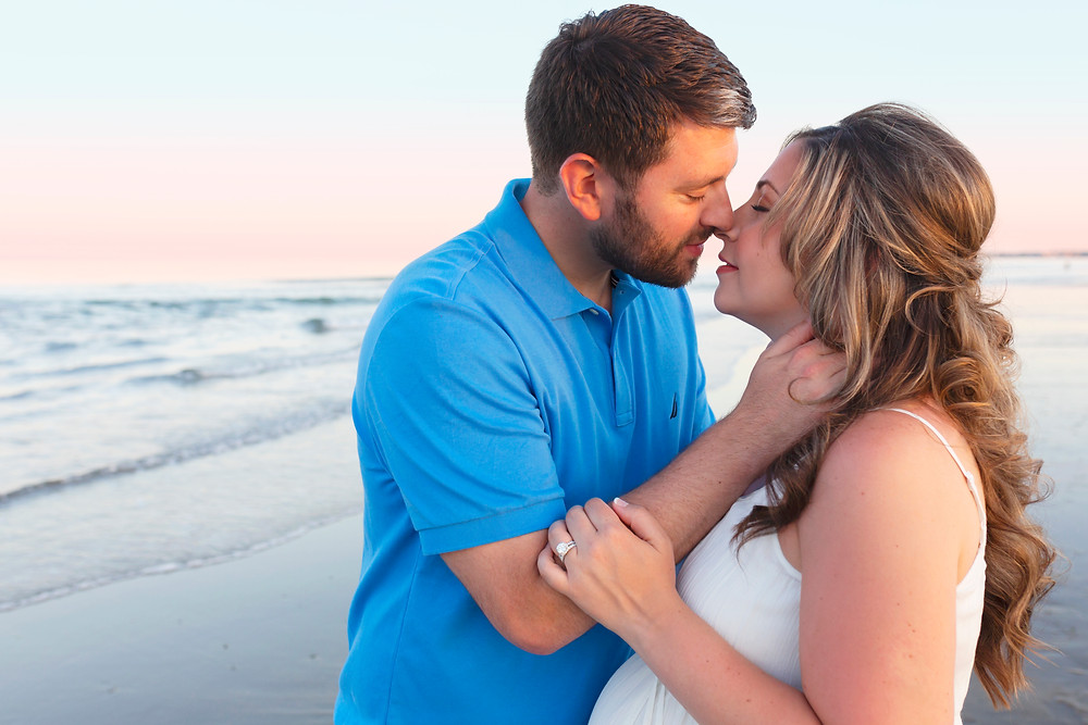 Maine Beach Maternity Photography