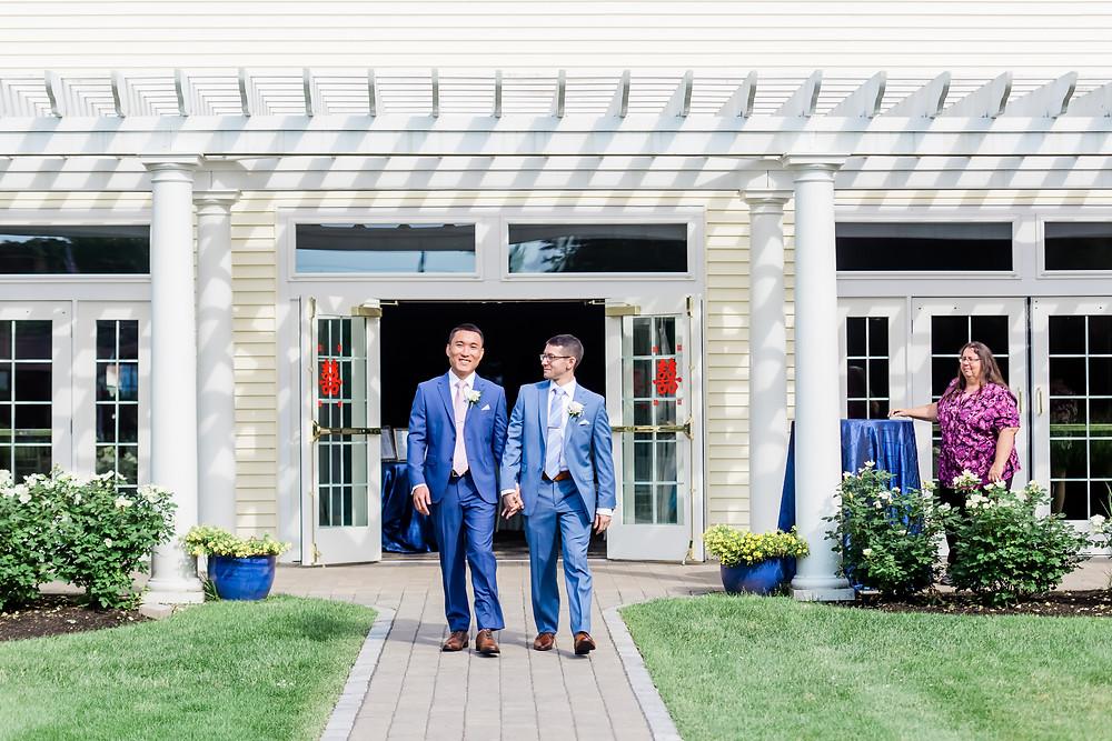 Gay Wedding Photographer Wells Maine