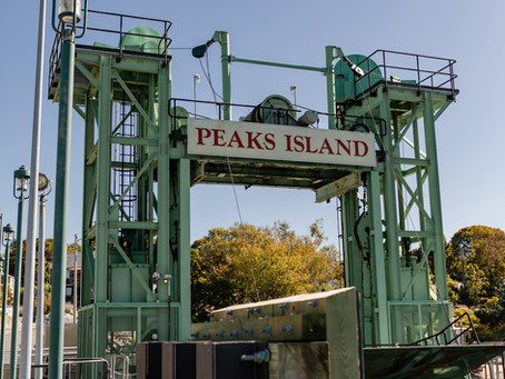 Andrea & Denise: Peaks Island