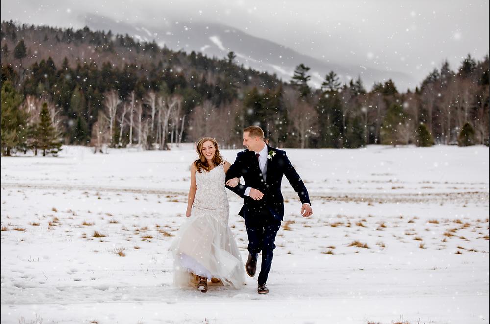 Mount Washington New Hampshire Winter Elopement