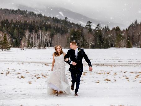 Morgan & Justin: Winter Elopement in Jackson, NH