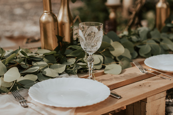 Bohemian wedding and elopement decoratio
